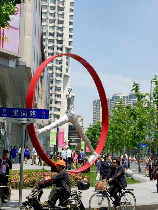 Nathalie Decoster Temps qui passe Shanghai