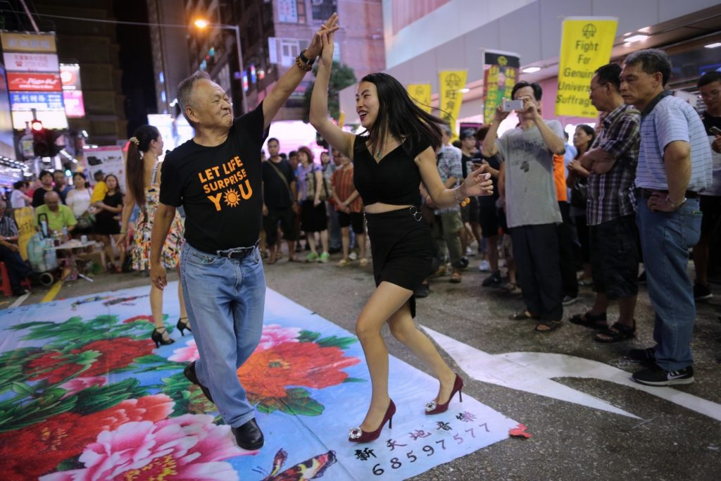 danseurs Mongkok