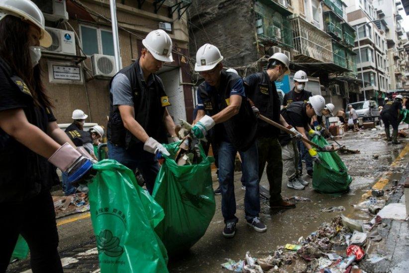 Grand nettoyage Hong Kong
