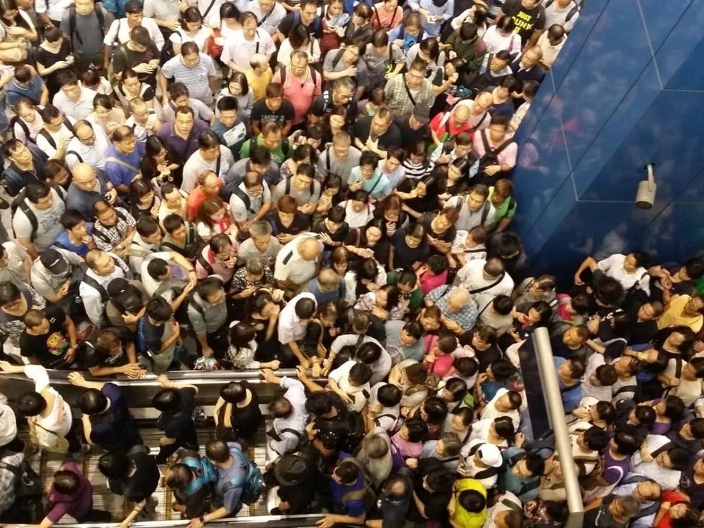 foule MTR