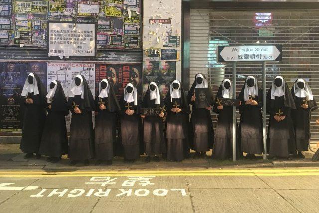 nonnes a Hong Kong