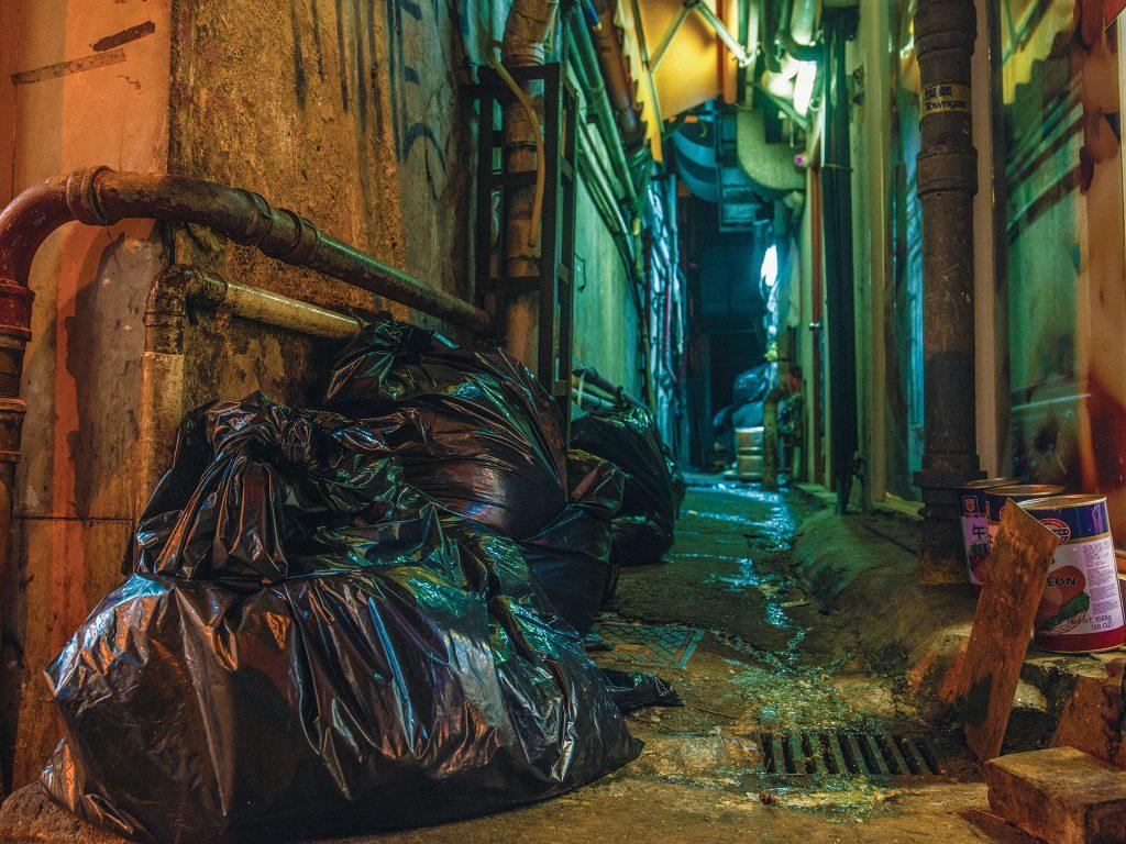 poubelles Hong Kong