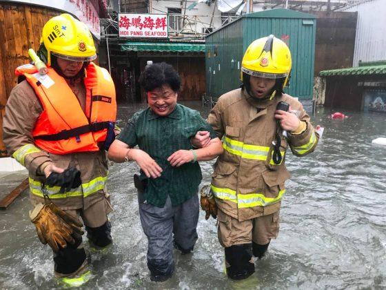 inondations Lei Yu Mun