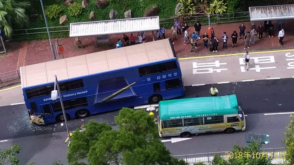 accident bus Shatin
