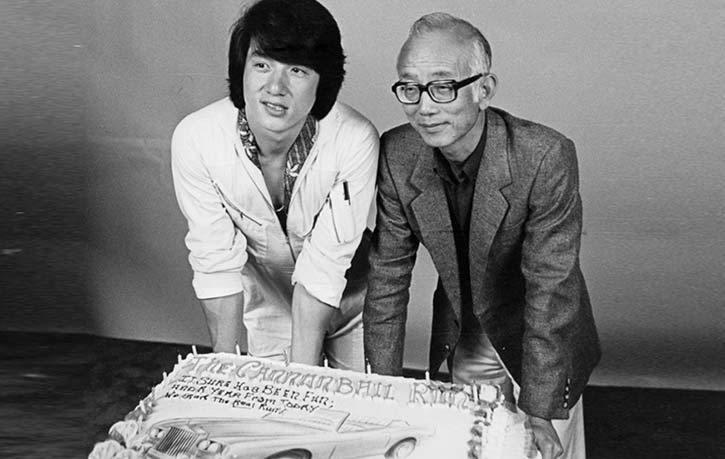 Jackie Chan et Raymond Chow