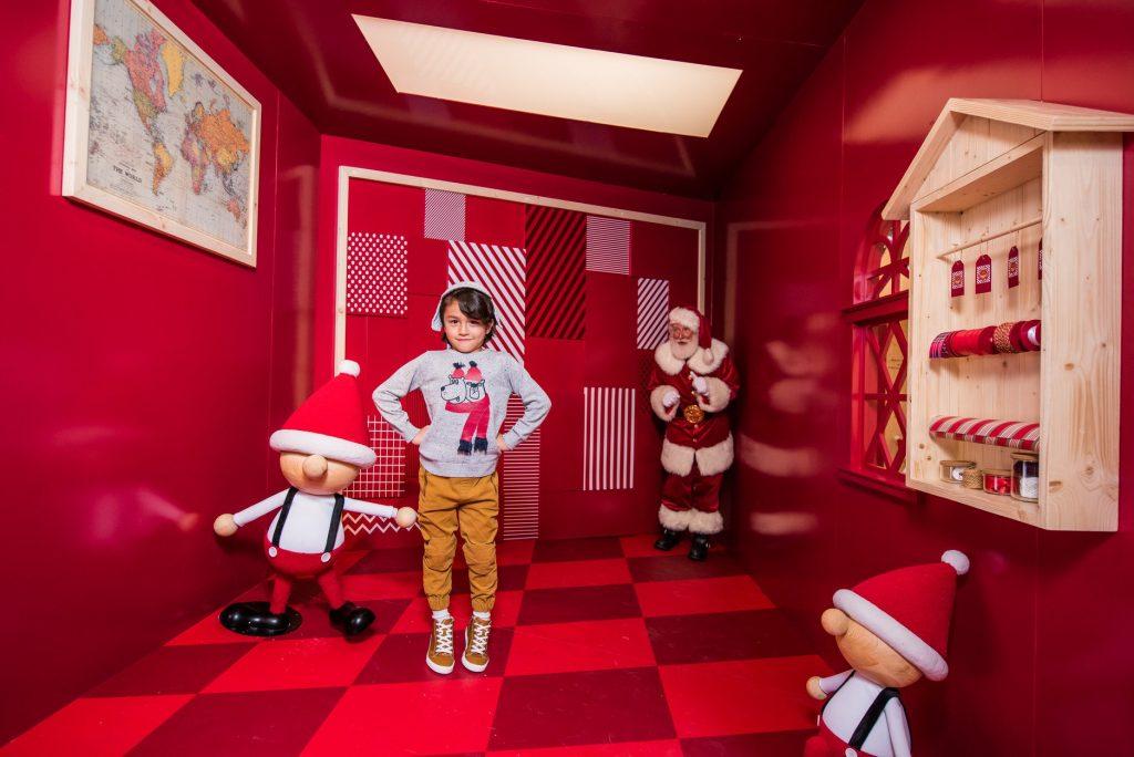 Santa academy IFC Hong Kong Noël 2018