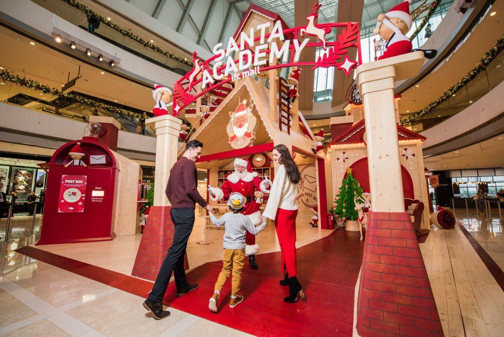 Santa academy IFC Mall Hong Kong Noël 2018
