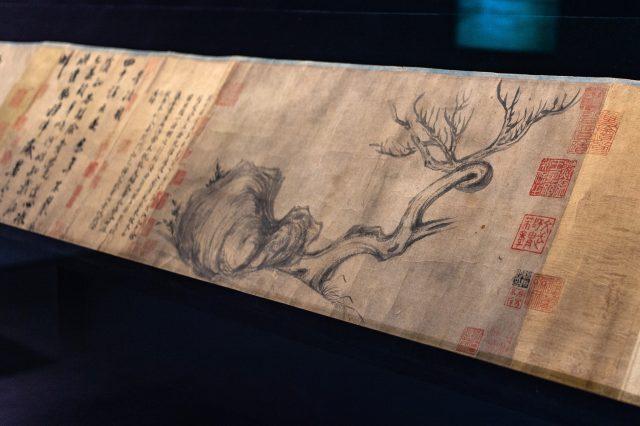 Su Shi Peinture Bois et roche