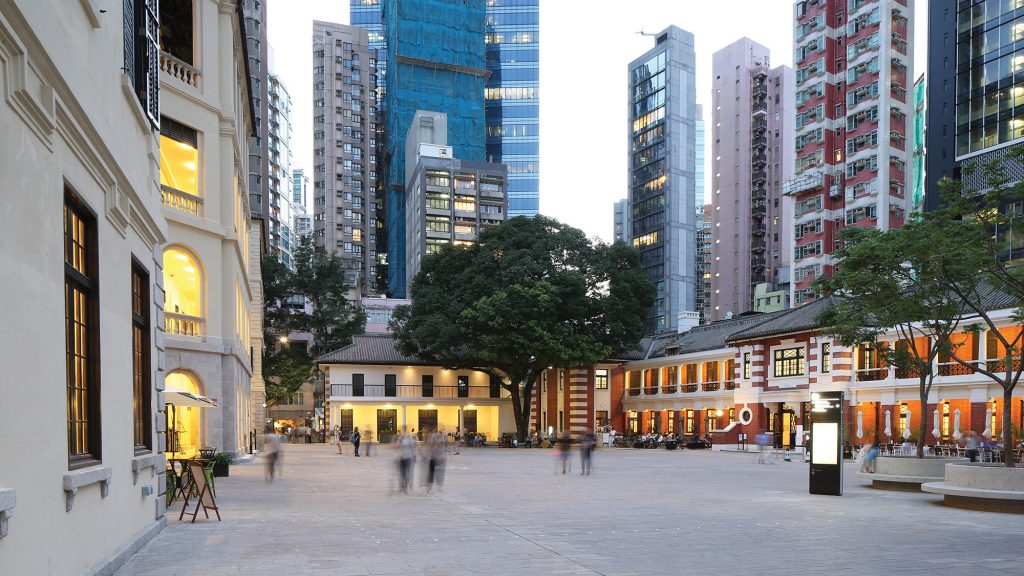 Tai Kwun la cour centrale
