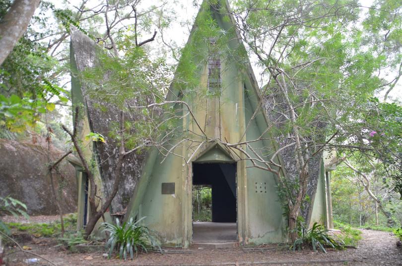 temple hindou hexagonale hong kong