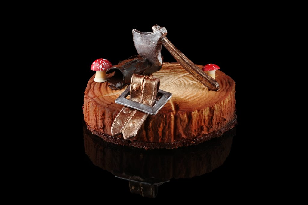 Jean-Marc Gaucher Lumberjack Santa Cake