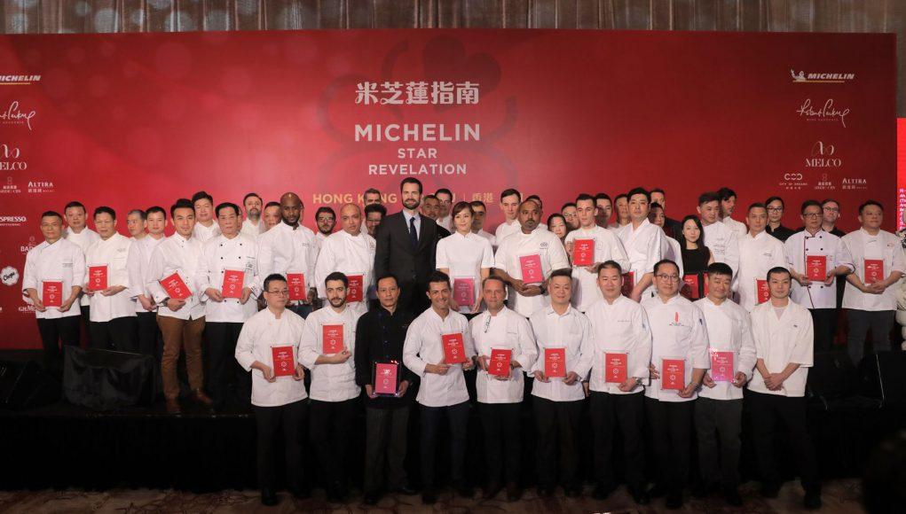Michelin restaurants 2019 Hong Kong Macao