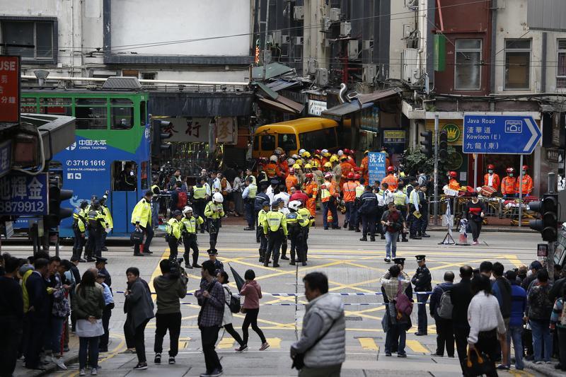 accident Hei Wo Street