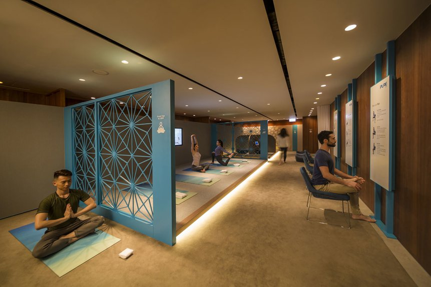 Cathay Pacific The Body Sanctuary