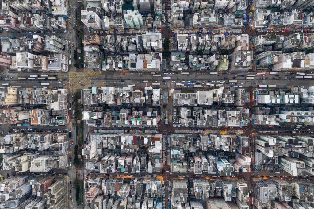 Hong Kong vue de haut