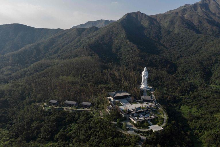 Le monastère de Tsz Shan