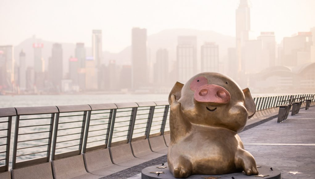 cochon McDull avenue of stars Hong Kong
