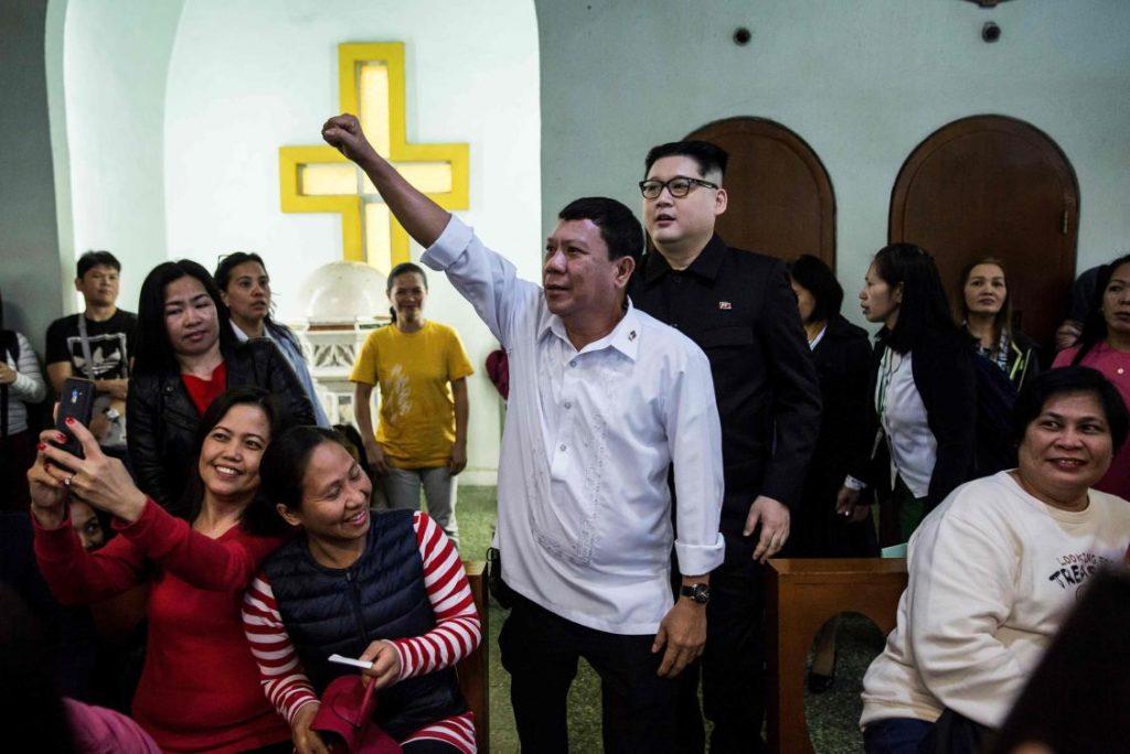 sosie de Duterte Hong Kong