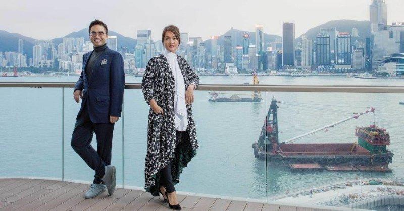Adrian et Sonia Cheng