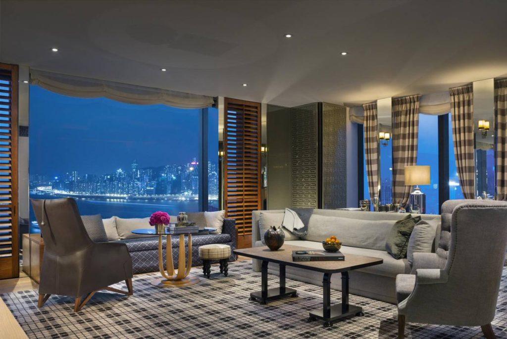 Rosewood hong kong suite