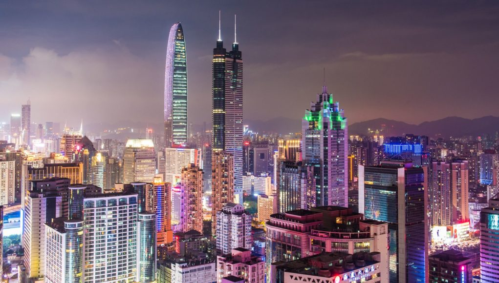 Shenzhen de nuit