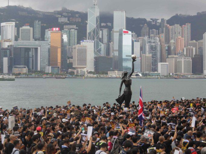hong kong protest TST