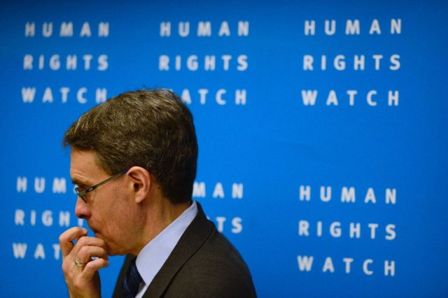 Human Rights Watch Kenneth Roth