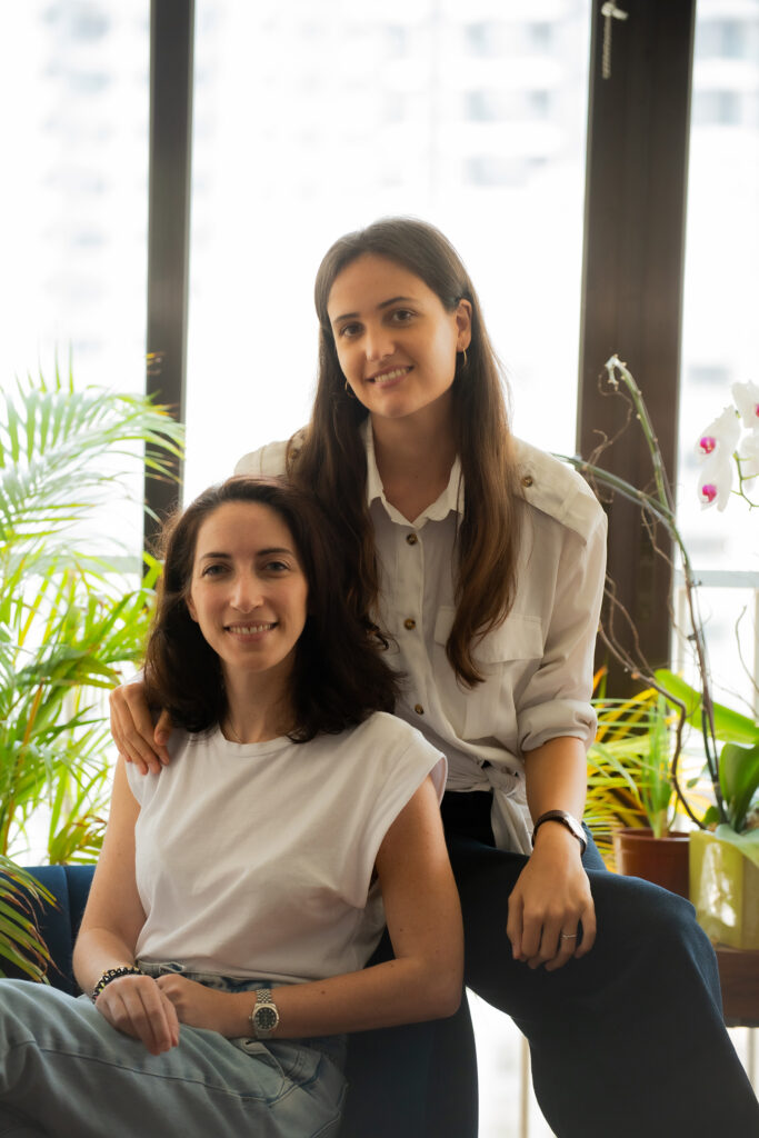 Lucie Veron et Myriam Tzinmann-Rebibo